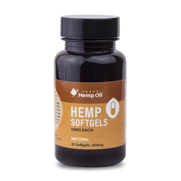 tasty hemp oil softgels